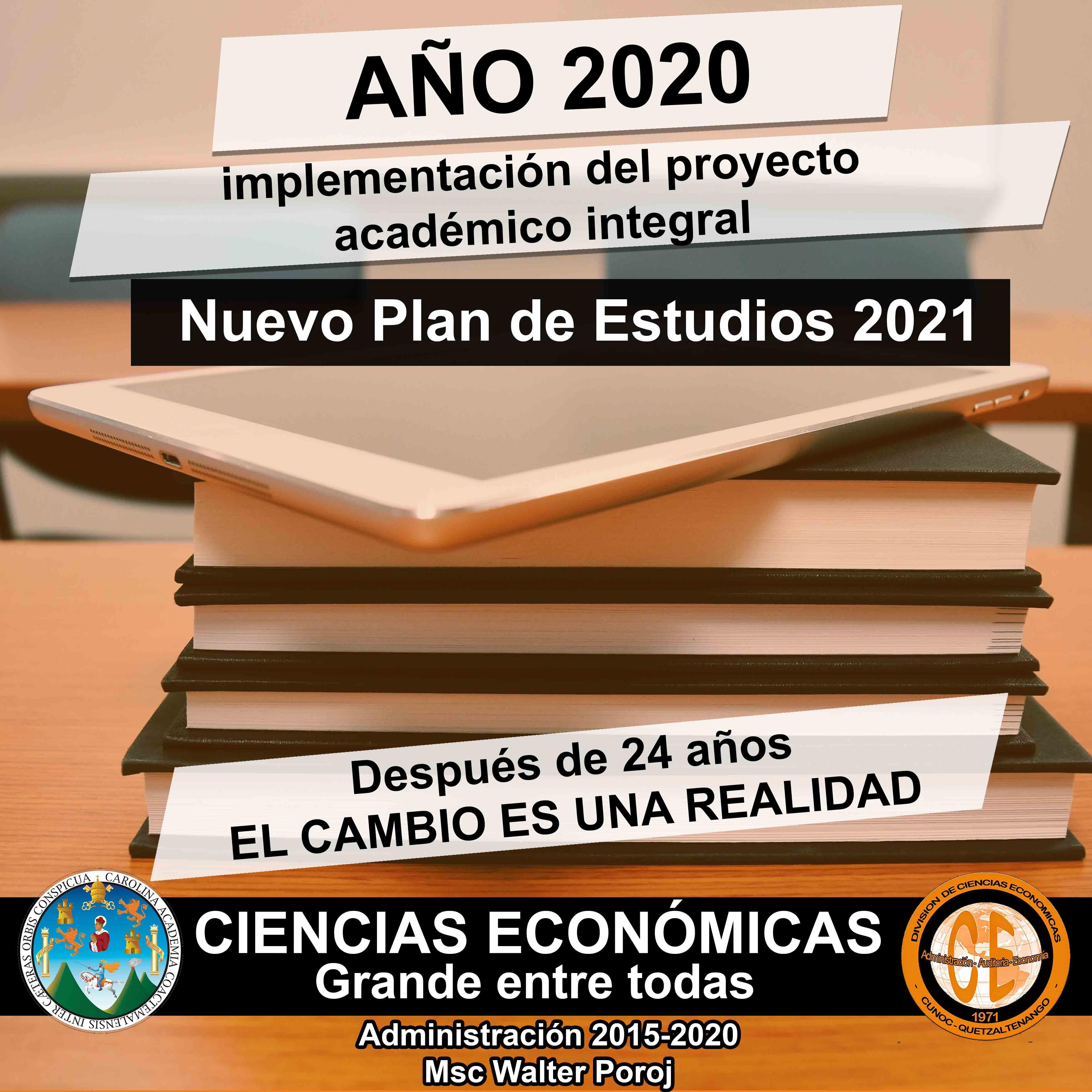 Plan de estudios 2021